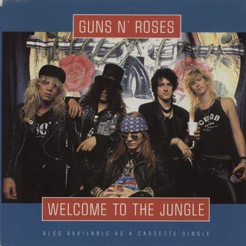 Guns N Roses Welcome To The Jungle Us 7 Quot Vinyl Single 7