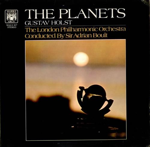 gustav holst the planets uk vinyl lp album  lp record