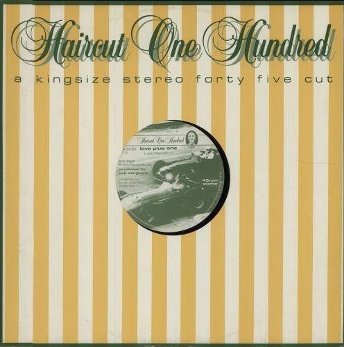 Haircut 100 Love Plus One Uk 12 Quot Vinyl Single 12 Inch