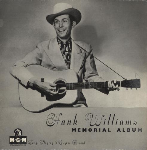 Hank Williams Memorial Album Uk 10 Quot Vinyl Single 10