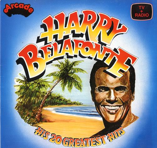 Recordhit: Harry Belafonte His 20 Greatest Hits UK Vinyl LP Album (LP
