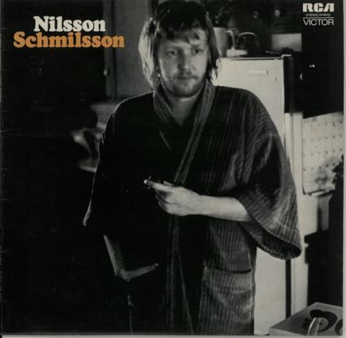 Harry Nilsson Nilsson Schmilsson Poster Uk Vinyl Lp