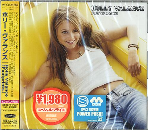 Holly Valance Footprints Japanese Promo CD album (CDLP ...