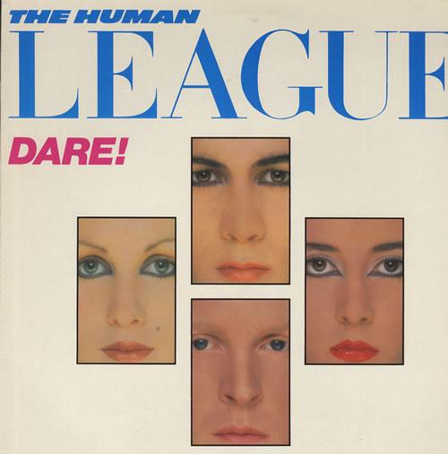 Αποτέλεσμα εικόνας για DARE!-Human League vinyl cover