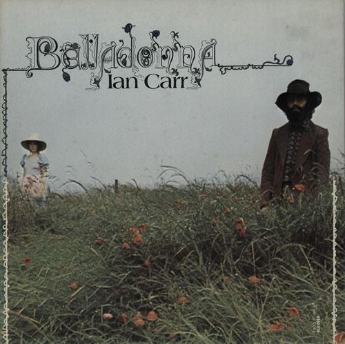 Album cover - ian carrs nucleus - labyrinth