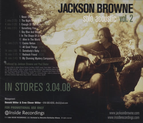 Jackson Browne The Load Out/Stay 2015 - YouTube