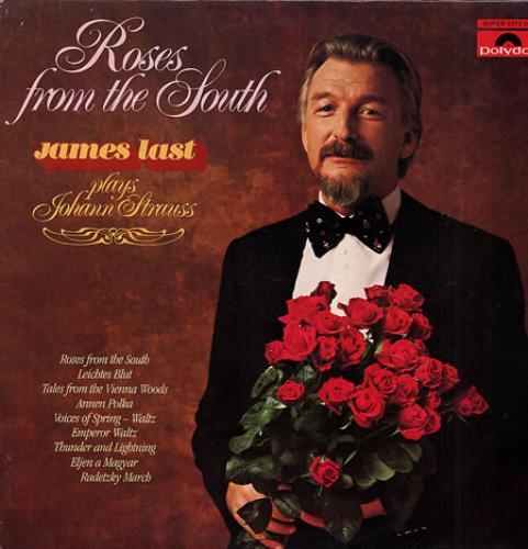James Last Roses From The South Uk Vinyl Lp Album Lp