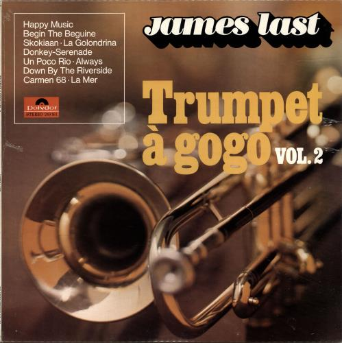 James Last Trumpet A Gogo Vol 2 Canadian Vinyl Lp Album