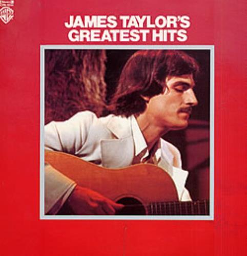 James Taylor Greatest Hits Japanese Vinyl Lp Album Lp