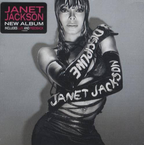 Janet Jackson Discipline Uk Cd Album Cdlp 427917
