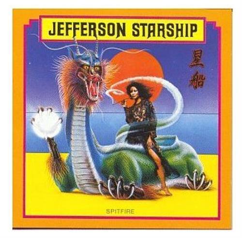 Jefferson Starship Spitfire Japanese Cd Album Cdlp 422557