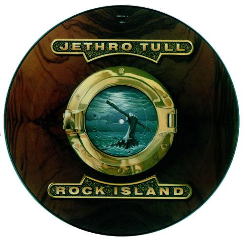 Jethro Tull Rock Island Uk Picture Disc Lp Vinyl Picture