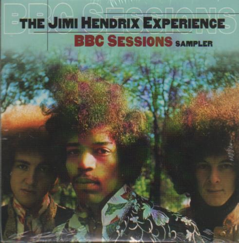Jimi Hendrix Bbc Sessions Sampler Us Promo Cd Album Cdlp