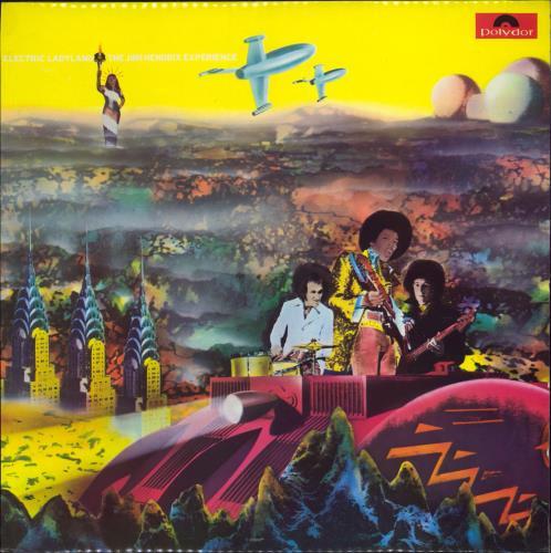 Jimi Hendrix Electric Ladyland Part 1 Uk Vinyl Lp Album