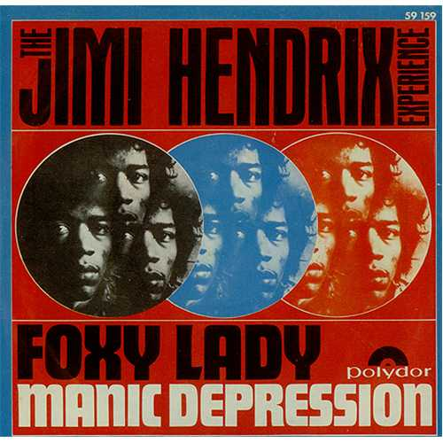 Image result for Jimi Hendrix manic depression