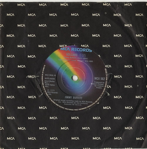 Jimmy Buffett Volcano Uk 7 Quot Vinyl Single 7 Inch Record