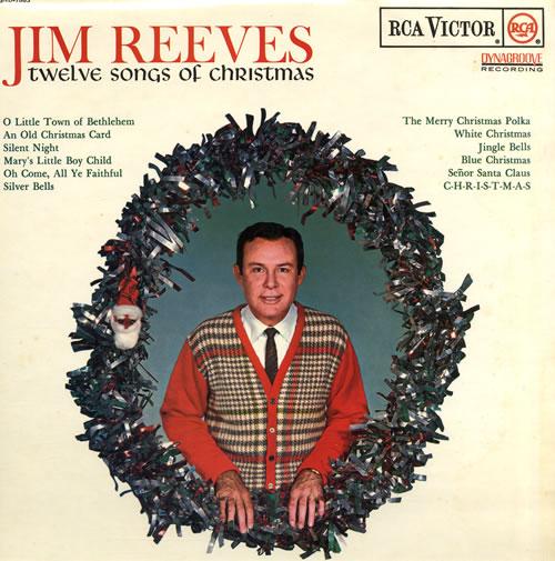 Jim Reeves Twelve Songs Of Christmas UK vinyl LP album (LP record) (555960)
