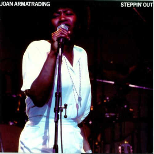 Joan Armatrading Steppin Out Australian Vinyl Lp Album