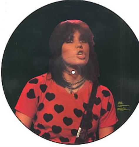 Joan Jett I Love Playing With Fire Us Picture Disc Lp