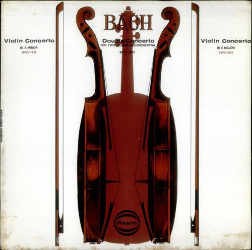 Johann Sebastian Bach Violin Concerto, Double Concerto & Violin ...