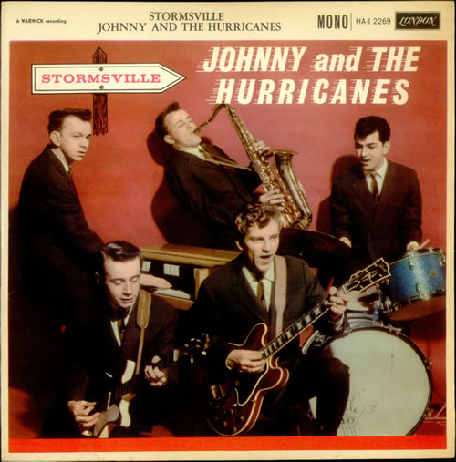 Johnny Amp The Hurricanes Stormsville Uk Vinyl Lp Album Lp