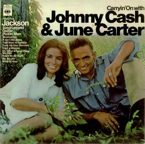 Cash Back Near Me >> Johnny Cash Carryin' On With Johnny Cash & June Carter UK vinyl LP album (LP record) (450900)