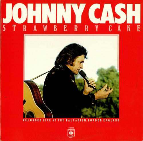 Johnny Cash Strawberry Cake Uk Vinyl Lp Album Lp Record