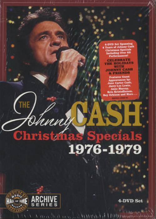 Johnny Cash The Johnny Cash Christmas Specials 1976-1979 US DVD ...