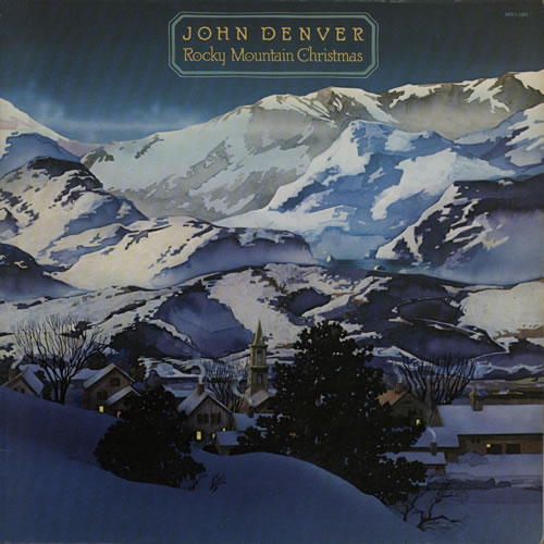 John Denver Rocky Mountain Christmas UK vinyl LP album (LP record ...