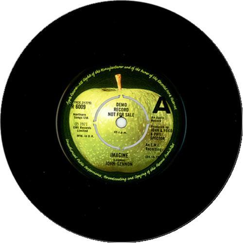 John Lennon Imagine Demo P S Uk Promo 7 Quot Vinyl Single