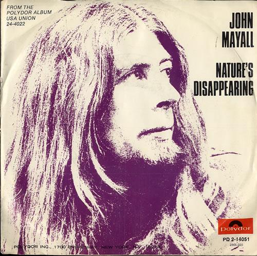 John Mayall Nature S Disappearing