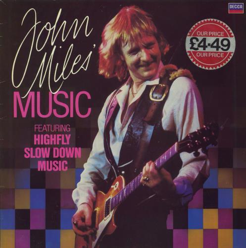 John Miles John Miles Music Uk Vinyl Lp Album Lp Record