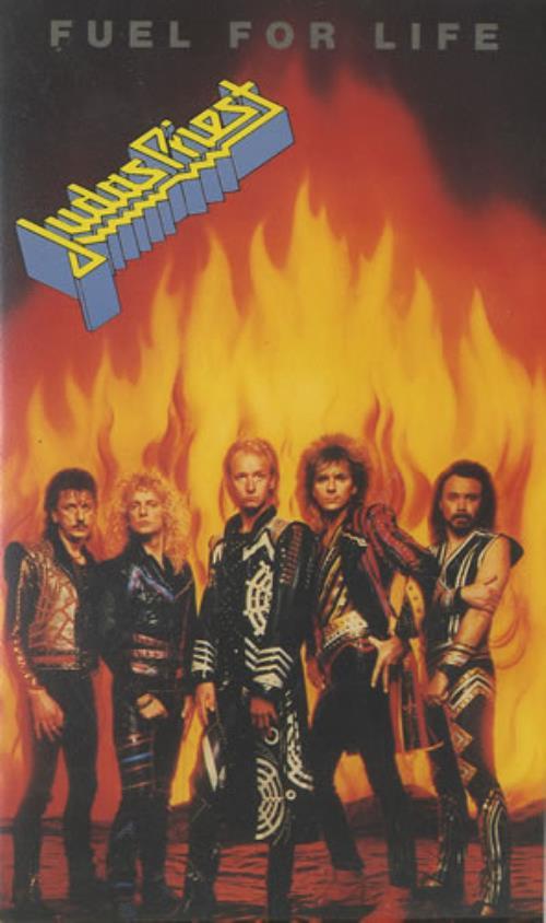Judas Priest Fuel For Life video (VHS or PAL or NTSC) UK JUDVIFU464515