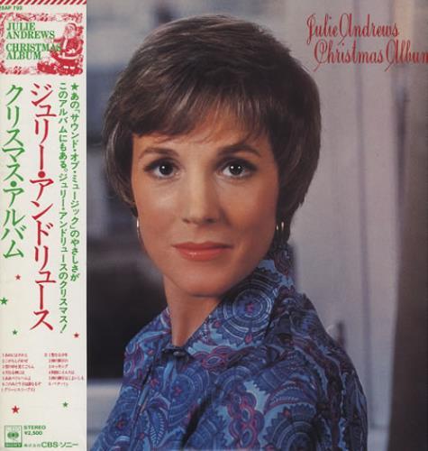 Julie Andrews Christmas Album Japanese Promo vinyl LP album (LP ...