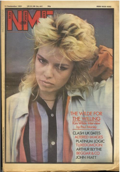 Kim Wilde Nme 19 September 1981 Uk Magazine 552918 19