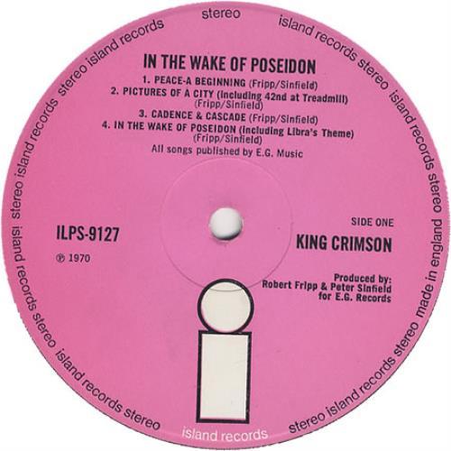 King Crimson Cat Food Single