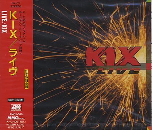 Kix Live CD album (CDLP) Japanese KBNCDLI368558