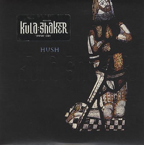 Kula Shaker Hush Uk 2 Cd Single Set Double Cd Single