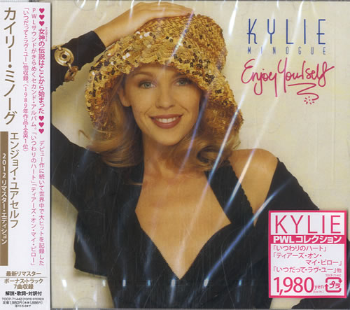 Kylie Minogue Enjoy Yourself Japanese Cd Album Cdlp 597881