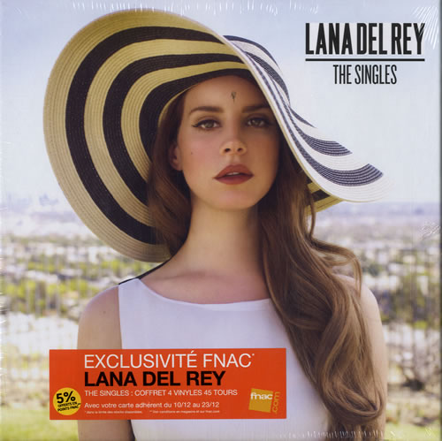 Lana Del Rey The Singles Sealed French 7 Quot Box Set 580343