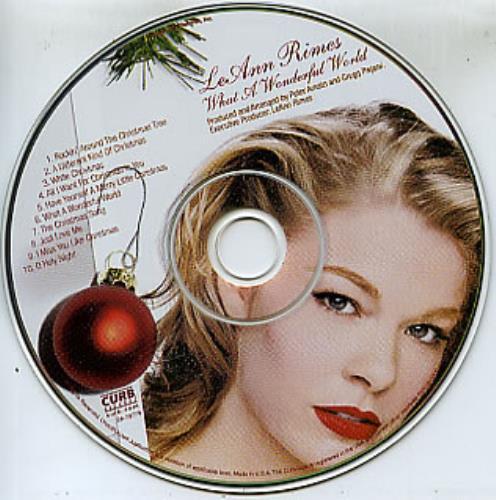 Leann Rimes What A Wonderful World US Promo CD album (CDLP) (307793)