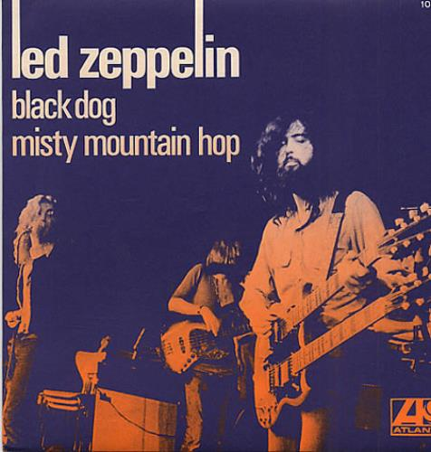 Led Zeppelin Black Dog French 7 Quot Vinyl Single 7 Inch