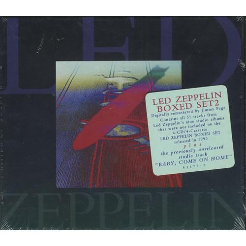 led zeppelin boxed set 2 sealed us 2 cd album set double cd 442111. Black Bedroom Furniture Sets. Home Design Ideas