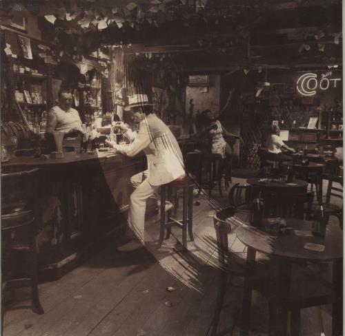 Led Zeppelin In Through The Out Door Slv A Uk Vinyl Lp