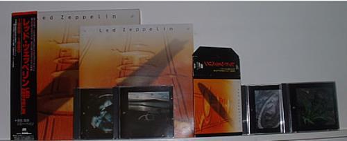 Led Zeppelin Led Zeppelin 1968 1980 Japanese Cd Album Box