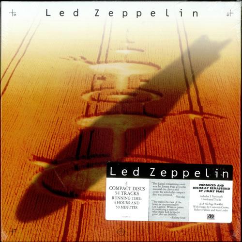Led Zeppelin Led Zeppelin Sealed Us Cd Album Box Set