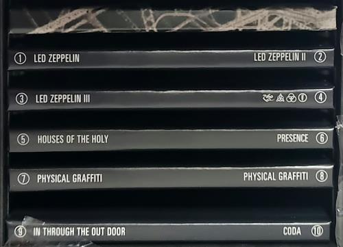 Led Zeppelin The Complete Studio Recordings Us Cd Single