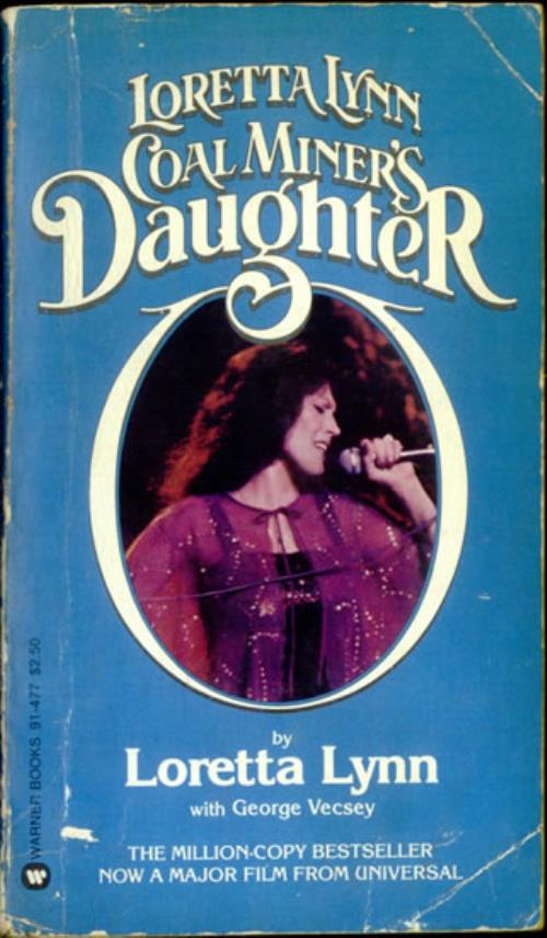 loretta lynn coal miners daughter book us laybkco526961