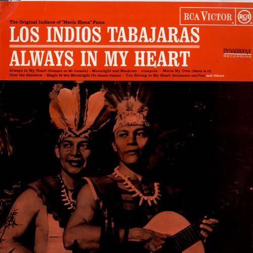 Los Indios Tabajaras Always In My Heart Uk Vinyl Lp Album