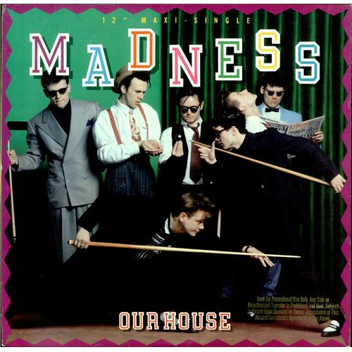 Madness Our House Us 12 Quot Vinyl Single 12 Inch Record